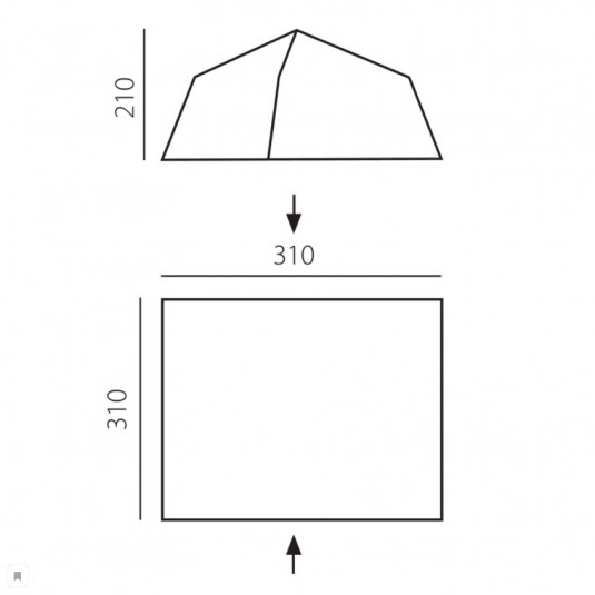 Палатка-шатер BTrace Comfort