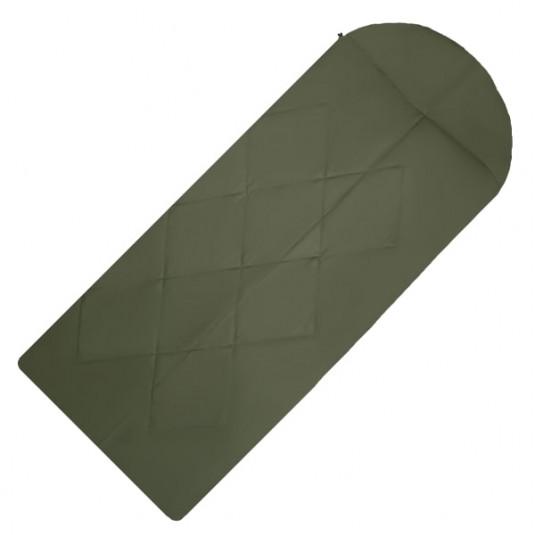 GARY - 5 220x90 спальный мешок, -5, правый, зелёный