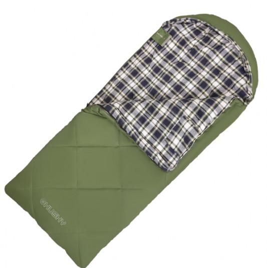 Спальный мешок Husky GALY KIDS -5 170x70, -5, зелёный правый