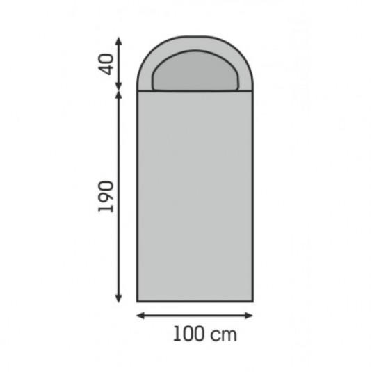 ALB -5C спальный мешок, -5С, левый