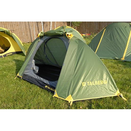 Палатка Talberg SPACE 2, зелёный