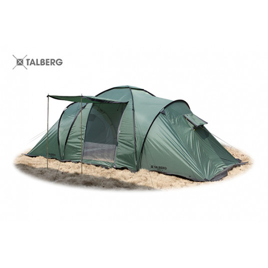 Палатка Talberg BASE 4, зелёный
