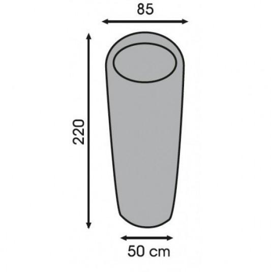 KRATZER +2C спальный мешок, +2, левый