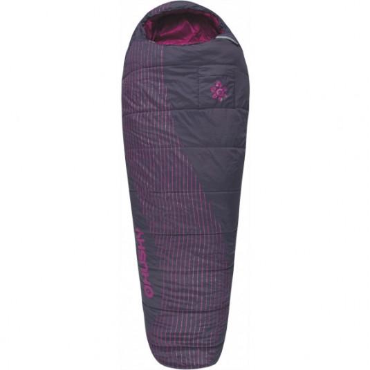 LADIES MAJESTY -10С 200х85 спальный мешок, розовый, левый