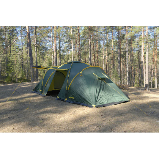 Палатка Talberg BASE 6, зелёный