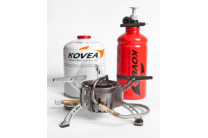 Горелка Kovea мультитопливная комплект (газ-бензин) KB-0603 Booster +1
