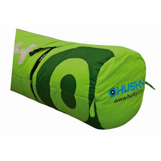 HUSKY Kids MAGIC -12С 180х75 спальный мешок, зелёный, левый