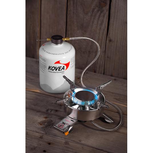 Горелка Kovea газовая с длинным шлангом TKB-9703-1L Expedition Stove Camp-1