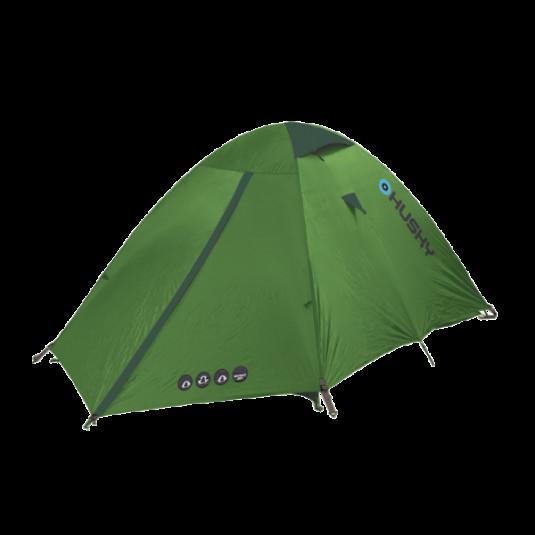 Палатка Husky BRET 2, светло-зеленый