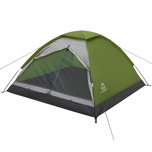 Автоматическая палатка Jungle Camp Easy Tent 3 зеленый/серый