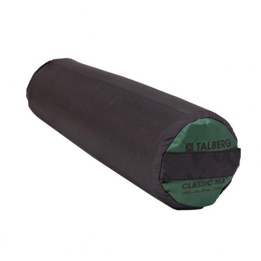 CLASSIC MAT самонадувающиеся коврики, 183X63X3.8 т.-зелёный