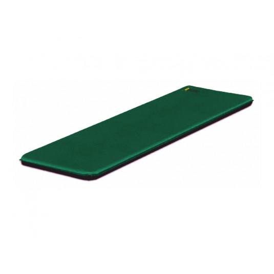 Самонадувающийся коврик Talberg CLASSIC MAT, 183X63X3.8 т.-зелёный
