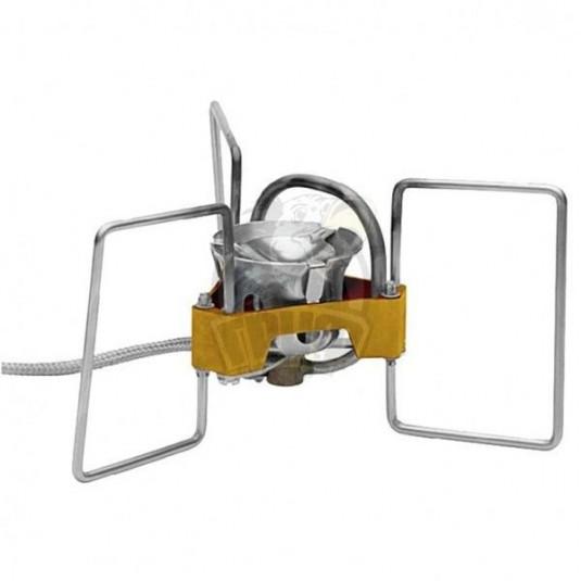 Tramp горелка туристическая складная со шлангом бензиновая TRG-050 сталь, латунь, алюминий