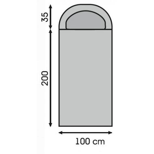 Спальный мешок Talberg CAMP RED 0C