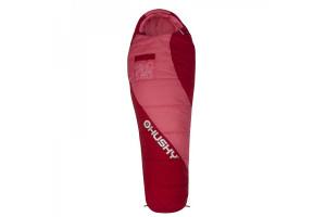 Спальный мешок Husky Kids MERLOT -10С 170х70, оранжевый, правый