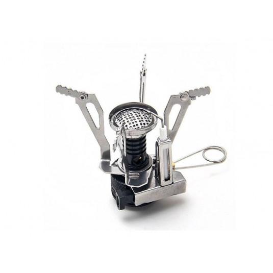 Tramp горелка туристическая складная с пьезоподжигом TRG-009 86*62*50 мм