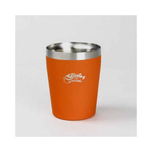 Tramp термостакан металлический TRC-101 оранжевый , 250мл