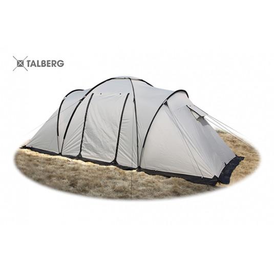 Палатка Talberg BASE 4 SAHARA, серый