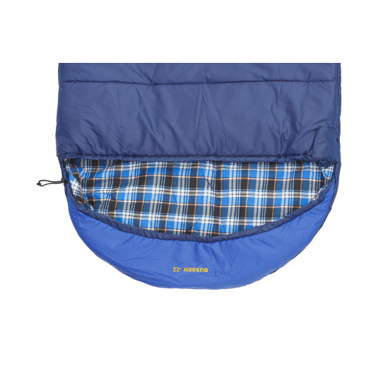 BUSSEN WIDE -22С спальный мешок, -22С, правый