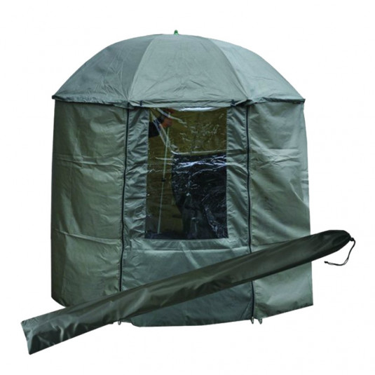 Tramp зонт рыболовный 200 см с пологом зеленый