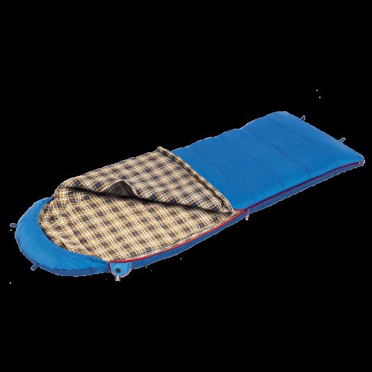 Спальный мешок BTrace Duvet, Синий,
