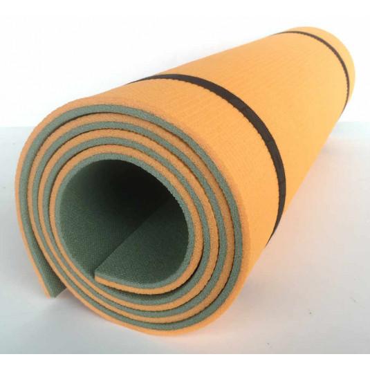 Коврик Изолон Forest Lux 10 1800х600х10 хаки-оранжевый