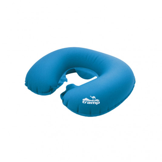 Tramp подушка надувная под шею (дорожная) TRA-159 синий