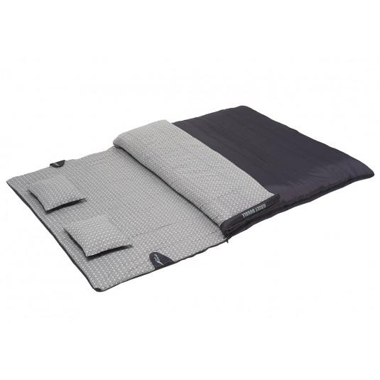 Спальник Trek Planet Jersey Double с подушками антрацит